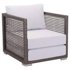 charleene modern clic aluminum weaved performance fabric outdoor club chair