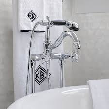 clawfoot tub faucets