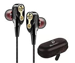 Buy <b>QKZ</b> CK -8 Dual Driver Extra Bass In-Ear Wired <b>Headphones</b> ...