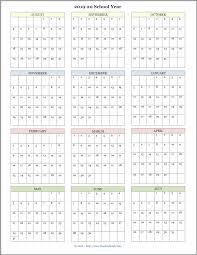 Printable Attendance Calendar 2020 Mailbag Monday More Academic Calendars 2019 2020