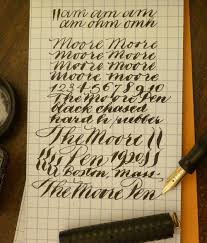 Penmanship Practice With Graph Paper Handwriting Analysis