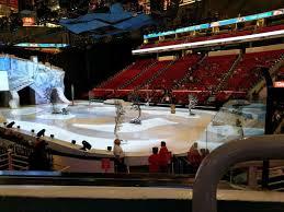 Pnc Arena Section 130 Row K Seat 1 Cirque Du Soleil