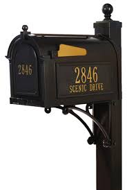 Unique Post Mount Mailboxes for Residential Use