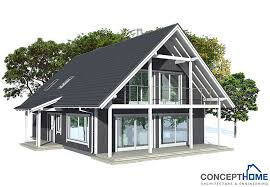 Small house plan CH in Nordic architectural style  House PlanHouse Plan CH   small houses   house plan ch  jpg