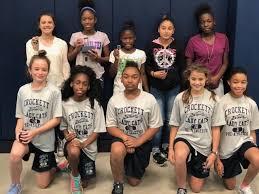 Crockett Intermediate School Girls Pre-Athletics announces August and  September winners