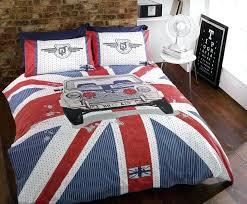 british flag comforter set union jack double duvet cover set flag bedspread monochrome union jack duvet