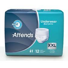 Attends Au50 Bariatric Underwear 2xl 48 Case