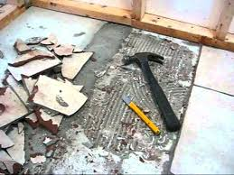 how to remove ceramic tile stunning remove tile floor from concrete removing ceramic tile from best