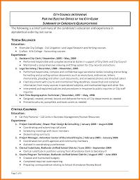 9 Summary Of Qualifications Resumes Mbta Online