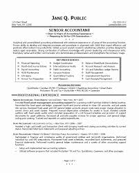 Accounting Student Resume Fascinating Sample Semisenior Accountant Junior Cpa Resume Unique Travelt