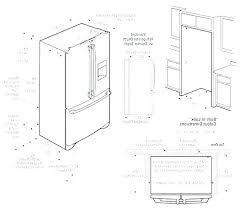 standard refrigerator height. How Wide Is A Standard Refrigerator Height Of Freestanding Tall The Average Bedroom . T
