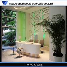 tw ce approved solid surface furniture new design beauty salon reception desks china ce approved office furniture reception desk