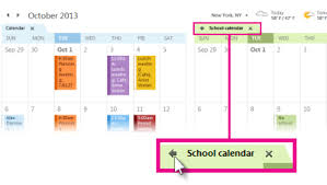 View Calandar Office 365 Outlook 2013 View Multiple Calendars At The Same Time