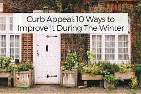 Curb Appeal: 10 Ways to Improve It During The Winter - Your Wild Home