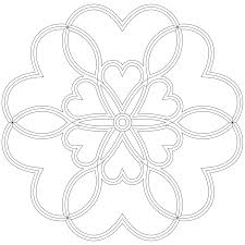 Mandalas Coeur 17 Mandalas Coloriages Imprimer