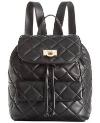 Dkny Gansevoort Quilted Nappa Leather Backpack in Black | Lyst & Gallery Adamdwight.com