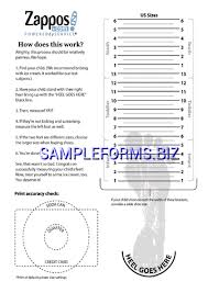 Printable Foot Width Chart Printable Shoe Size Chart For Toddlers Printable Shoe Sizing