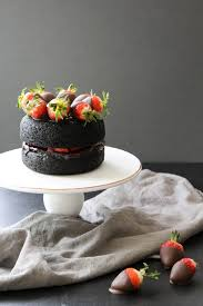Dark Chocolate Strawberry Cake Healthy Hacks