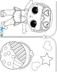 Lol Surprise Serie 3 Confetti Pop Da Colorare Cartoni Animati