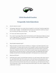 Soccer Resume Example Soccer Coach Resume Example New High School Baseball Coach Resume 16