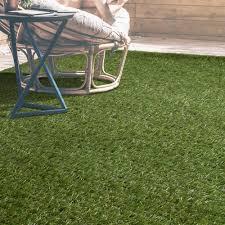 Ivy IndoorOutdoor Artificial Fake Grass Area Rug Green iCustomRug