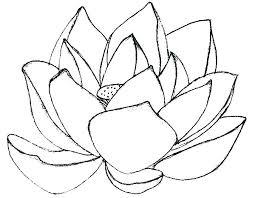 Flower Coloring Pages Easy Printable Free Mandala Simple Flowers