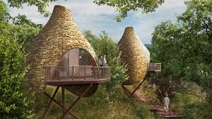 tree house plans for one tree. Dreamy Treehouse Colony Helps You Reconnect With Nature Tree House Plans For One