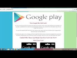 free google play gift card codes no surveys read desc scam
