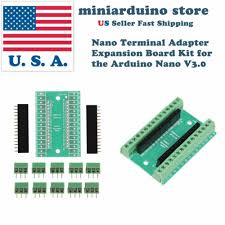 Terminal Adapter Expansion Board for Arduino <b>Nano V3</b>.<b>0</b>