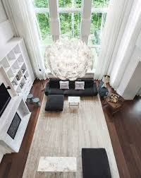 Wood Design For Living Room Interior Design Ideas 17 Modern Living Rooms As Seen From Above