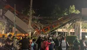 Viaduto desaba e trem cai sobre avenida; há dezenas de mortos e feridos no  México - Mundo - Diário de Canoas