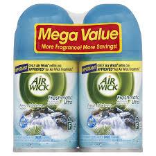 Airwick 2-Pack Fresh Waters Air Freshener Spray Refills