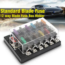 atc ato blade 30a amperage car audio and video fuses fuse 0 wire 32v 12 way 25amp terminals circuit car boat atc ato fuse box block holder us