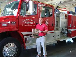 jacob smith tcc fire service training center instructor winner of the texas ociation of