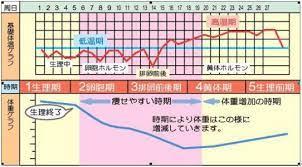 生理 周期 体温