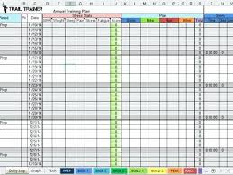 Training Calendar Template Excel Combined With Download For Prepare ...