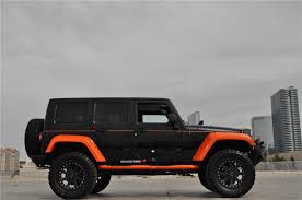 lifted jeep rubicon 4 door white