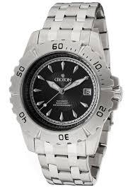 croton watches men s aquamatic automatic black textured dial croton watches men s aquamatic automatic black textured dial stainless steel ca301183ssbk