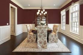 Beautiful Dining Room Paint Ideas With Accent Wall Trendy Red Decor Of On Inspiration