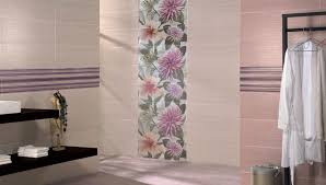 Impressive Decorative Wall Tiles For Bathroom In Shades Of Mauve Coordinating To Creativity Ideas