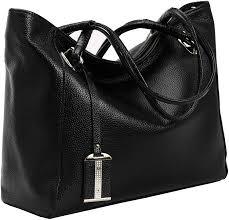 Designer Black Satchel Bags On Clearance Kenoor Leather Tote Shoulder Handbags Designer Satchel Bag For Women Summer Bags