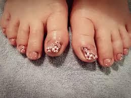 Toe Nail Designs Flowers 26 Toes Nail Art Designs Ideas Design Trends Premium
