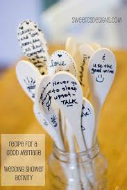 Wooden Spoon Game Mesmerizing Bridal Shower Games That Are Cute And Classy Not Cheesy