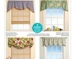Patterns For Valances Cool Valance Patterns Etsy