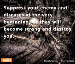 Focus Quotes Suppress Your Enemy And Diseases At The Very Beginning