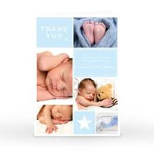 Baby Thankyou Personalised Thank You Cards From 99p Cardfactory Co Uk