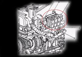 computer location diagrams 2002 2006 trailblazer envoy 4 2l bolted to side of engine