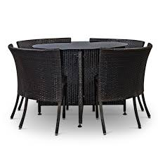 woodofa compact outdoor dining set