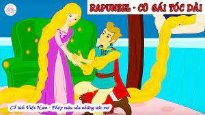 Rapunzel - Công chúa tóc dài   Truyện cổ tích   Truyện cổ tích Việt Nam -  YouTube   Rapunzel, Công chúa, Truyện cổ tích