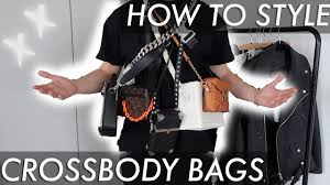 how to <b>style crossbody bags</b> - YouTube